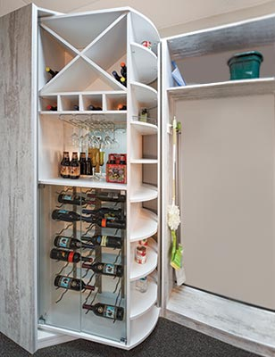 custom freestanding closets - 360 Organizer pantry systems