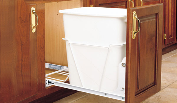 cabinet pull-out trash bin
