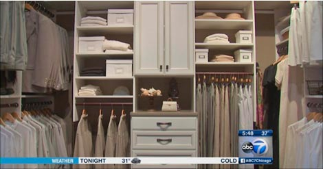 Closet Works featured on ABC Chicago News