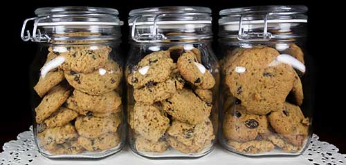 how to store baked goods