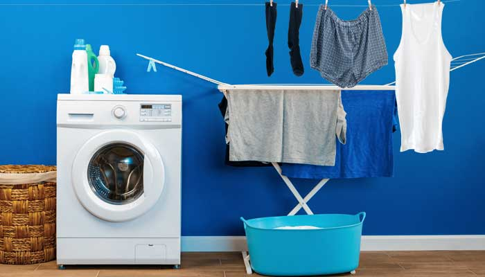 Portable indoor laundry drying rack for laundry
