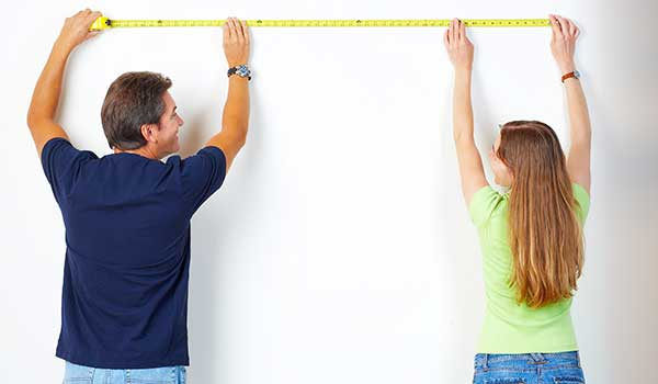 How to take closet measurements when building a closet system for your home