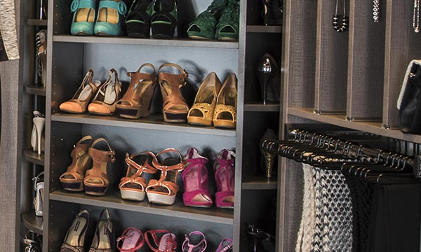 Closet organization tips on how to organize your shoes