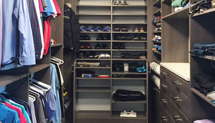 Gerry Ayala top shelf 2018 closet entry