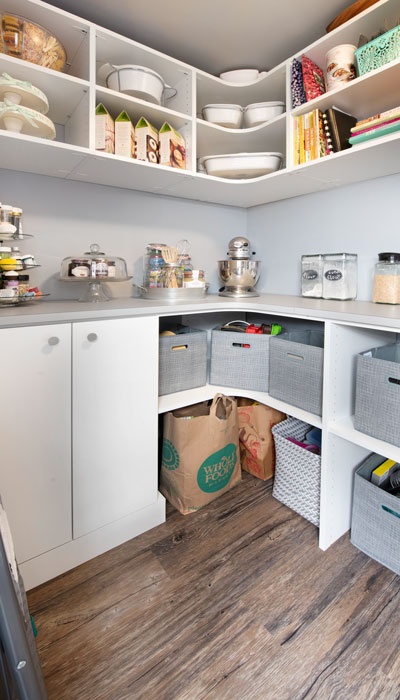 shelves storage for pantry
