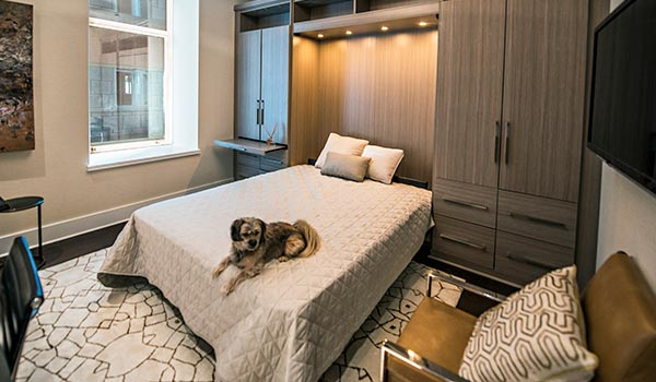 Murphy beds for guest room in home office