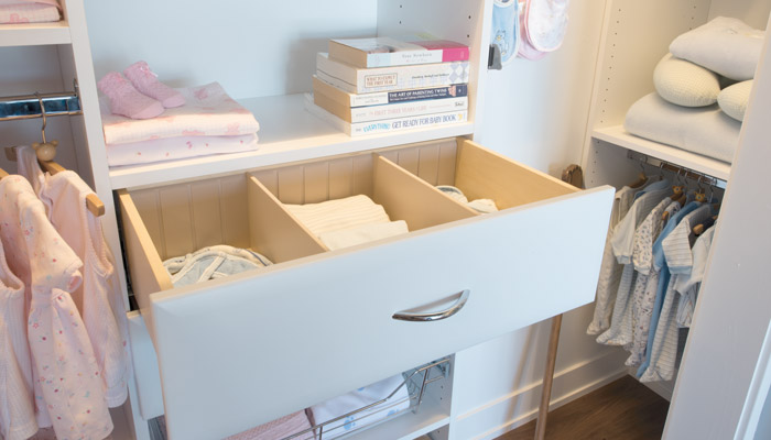 Use drawer organizers for effortless organization