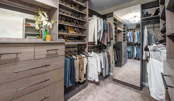 Master bedroom closets ideas for a shared walk-in closet