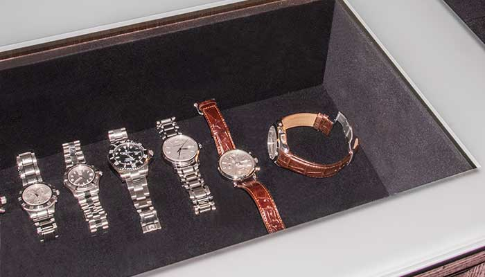 drawer insert for jewelry can be used for watches
