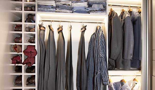 Closet lighting ideas