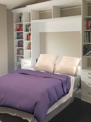 Verical Murphy bed