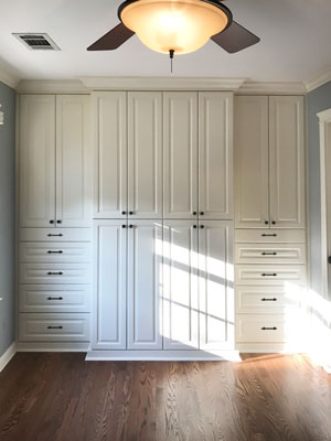 ivory bedroom wardrobe with harmony doors