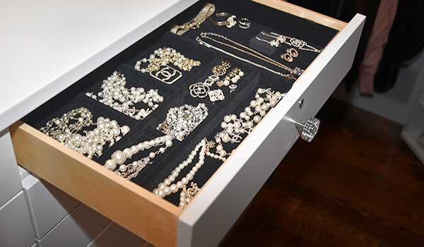 jewelry drawer organizer