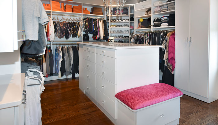 Sue Tinker 2018 top shelf closet entry