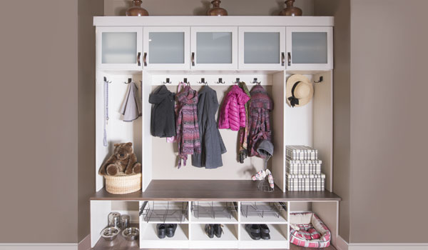 Custom mudroom perfect for an entire family