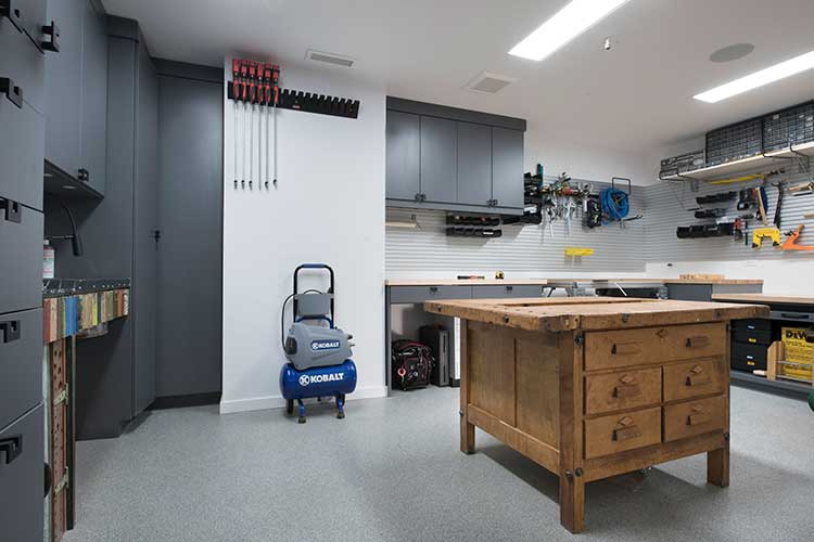 Closet works custom garage organization systems garages for Basement design tool
