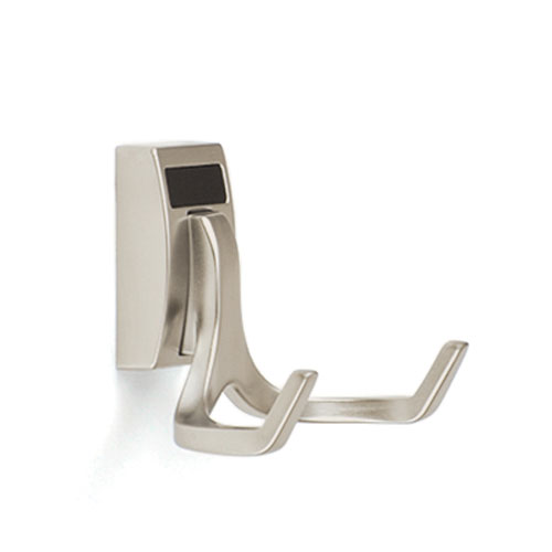 Elite Brushed Chrome Double Hook Part Number 1560
