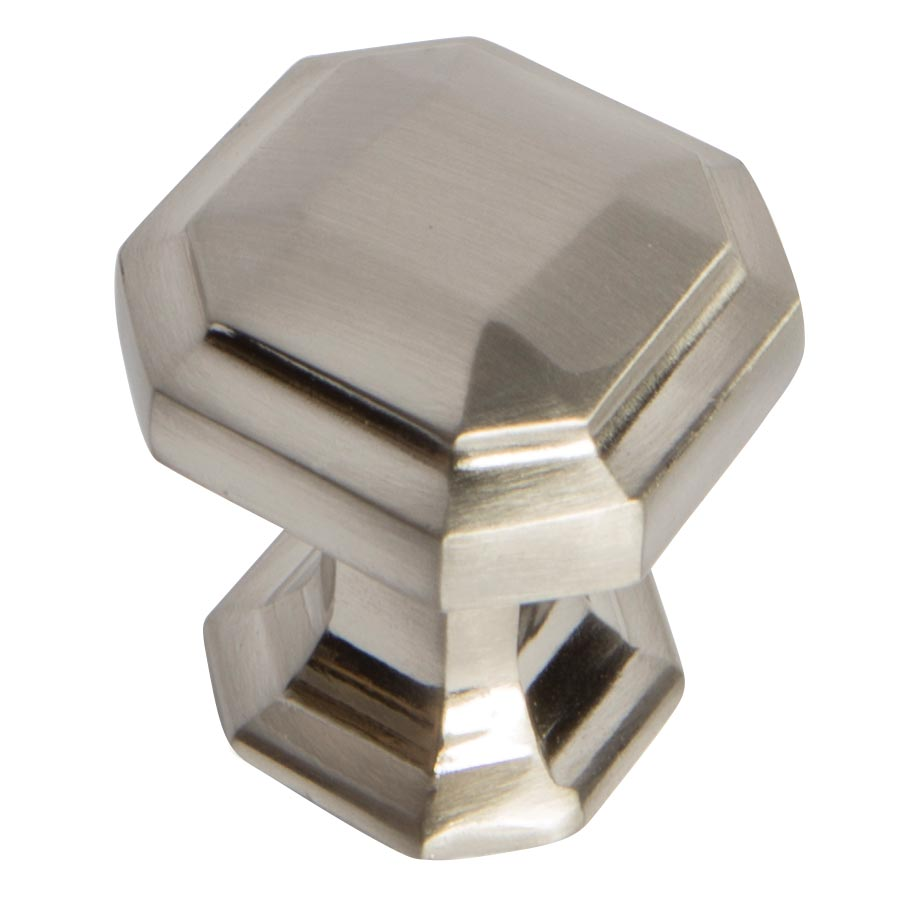 Emerald Brushed Chrome Knob Part Number 1578