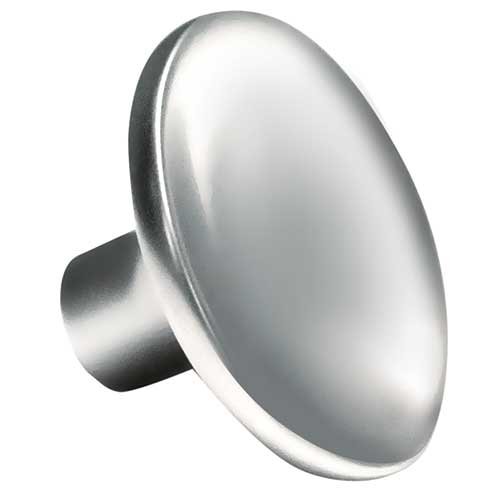 Curved Round Polished Chrome Knob Part Number 3270