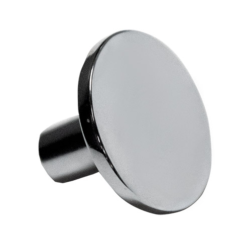 Contempo Round Polished Chrome Knob Part Number 3282