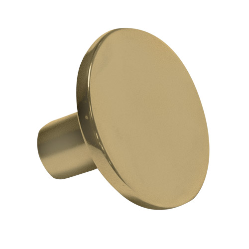 Contempo Round Matte Gold Knob Part Number 3285