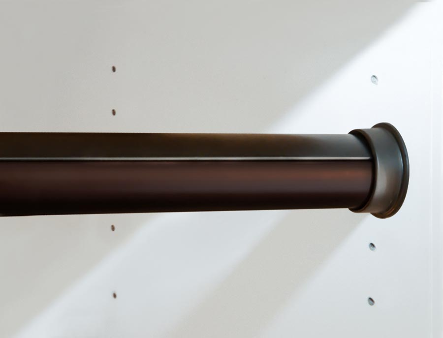 Oil Rubbed Bronze Round Rod