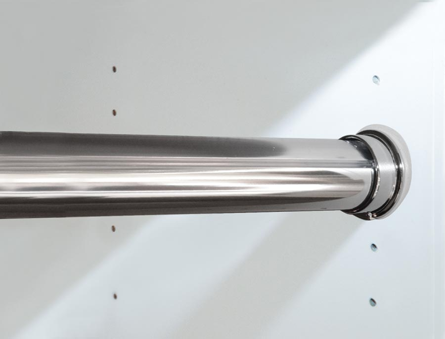 Polished Chrome Round Rod