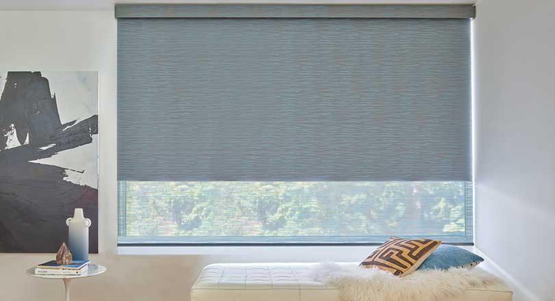 Designer Roller Shades by Hunter Douglas close-up