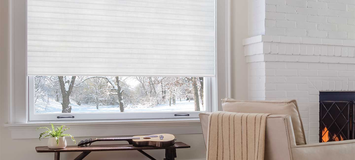 Energy saving Sonnette Cellular Roller Shades