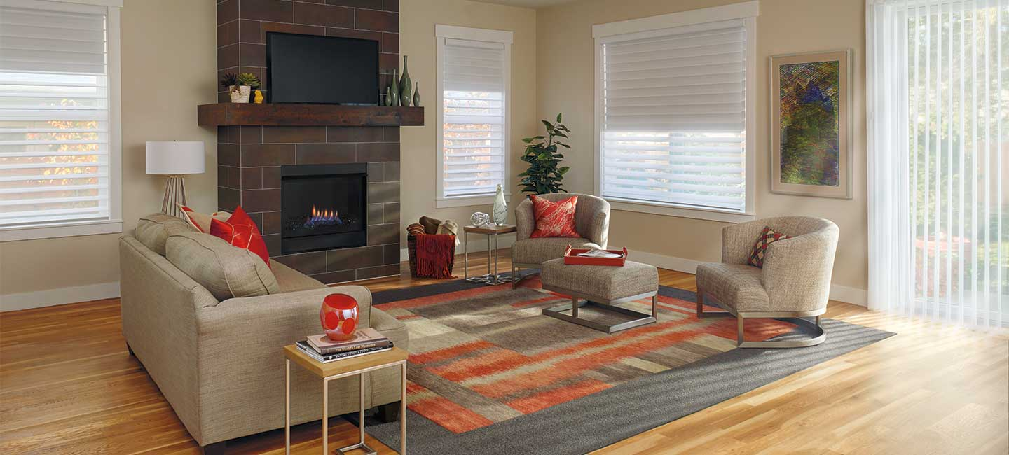 Duolite Silhouette Window Shadings from Hunter Douglas
