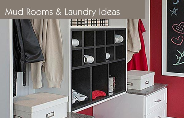 Mud Room and Laundry Ideas