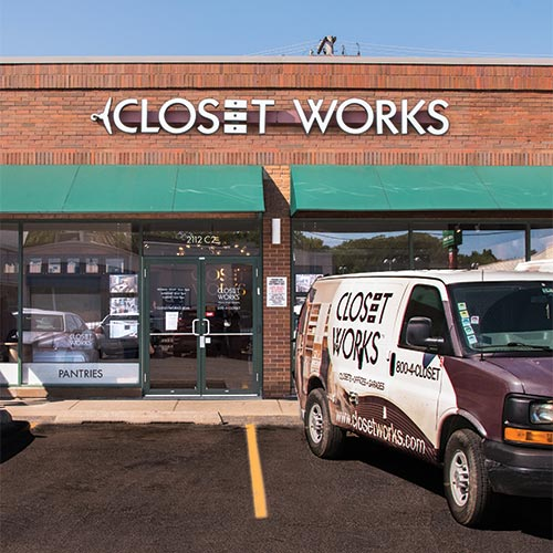Closet Works Showroom on Clybourn Ave.