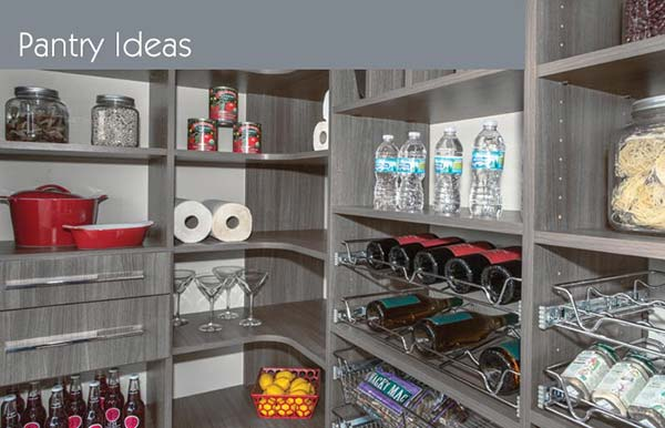 pantry closet organization systems