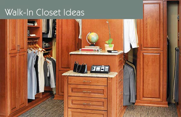 walk-in closet organization systems